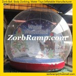 01 Inflatable Christmas Snow Globe