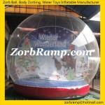 01 Inflatable Christmas Snow Globe