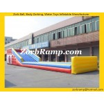 01 Inflatable Zorbing Ramp with Stopper
