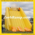 02 Zorbing Ramp Slope