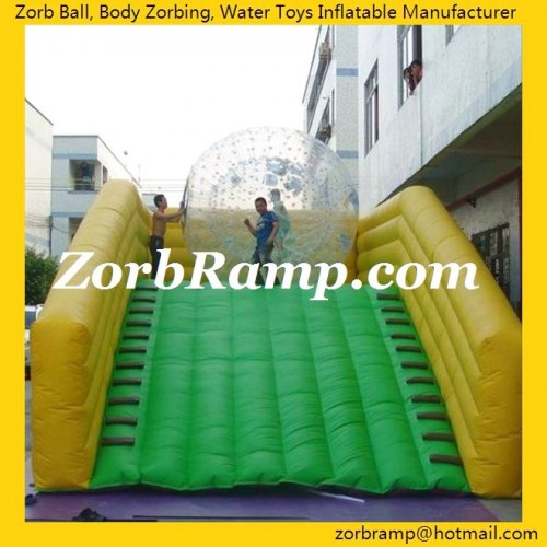 03 Inflatable Ramp for Zorbing