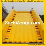 07 Inflatable Zorbing Ramp