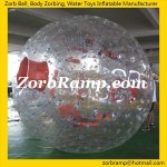 TZ02 Transparent Giant Inflatable Human Hamster Ball