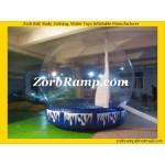 23 Xmas Inflatable Showing Globe