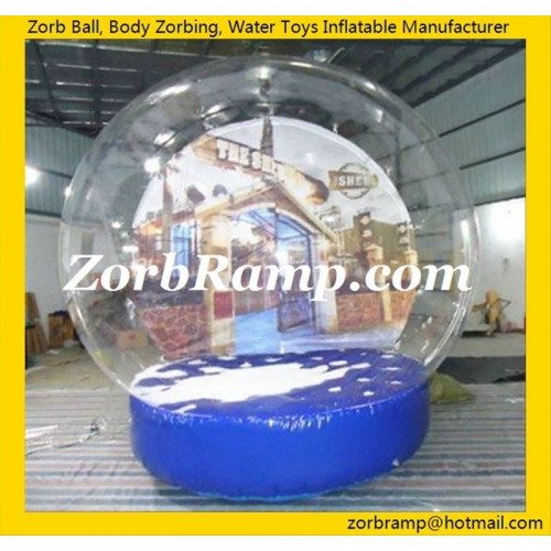 25 Inflatable Snow Ball with Picture