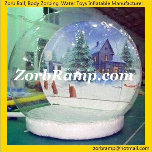 27 Inflatable Christmas Snow Ball