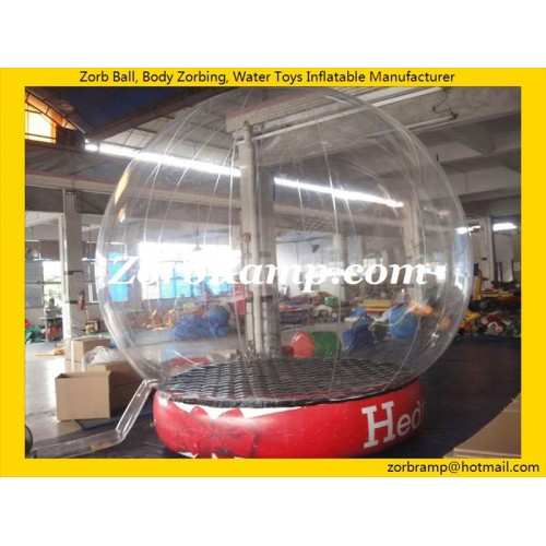30 Inflatable Outdoor Snow Globe