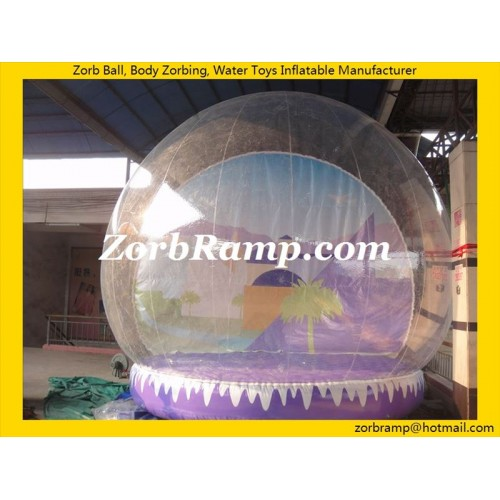 32 Inflatable Snowing Globe