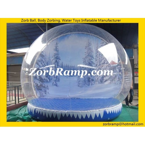 35 Inflatable Snow Globe For Christmas
