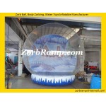 36 Santa Snow Globe Christmas Inflatable
