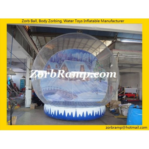 36 Santa Snow Globe Christmas Inflatable