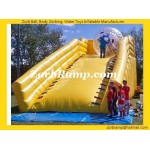 11 Inflatable Zorb Ball Ramp