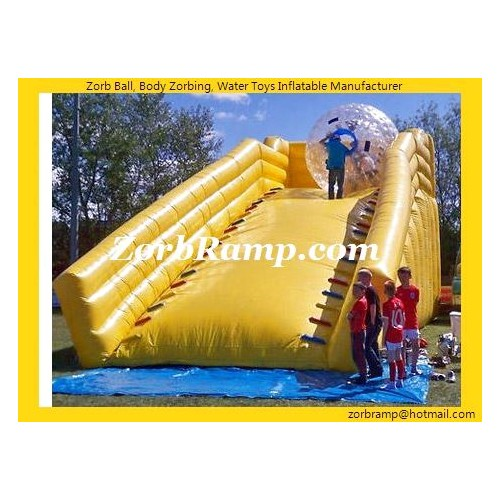 11 Inflatable Zorb Ball Ramp