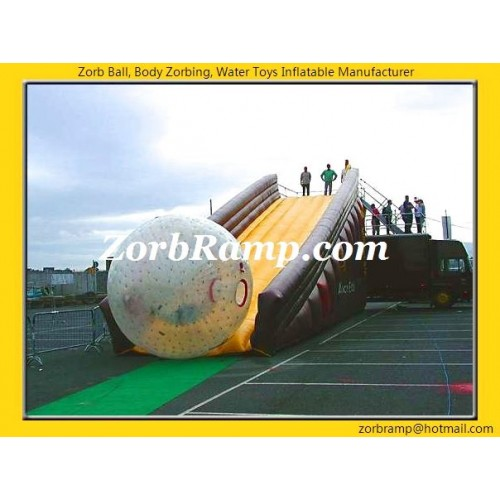 12 Inflatable Zorbing Ramp Stopper