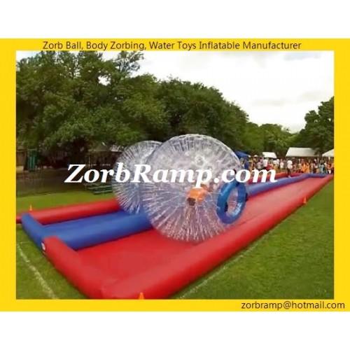 17 Zorb Ball Race Track