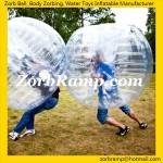50 Football Zorb Ball