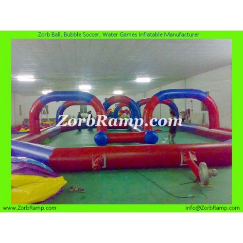 23 Inflatable Zorb Ball Track