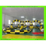 24 Zorb Ball Course
