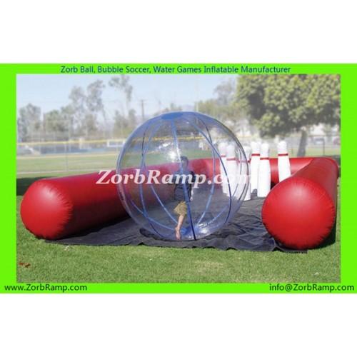 29 Zorb Ball Bowling Track