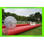 30 Inflatable Human Bowling Ball Track