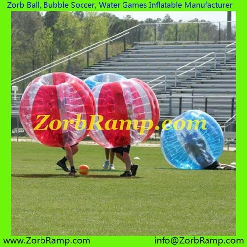 135 Bubble Football Cardiff