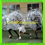136 Bubble Football Frankfurt