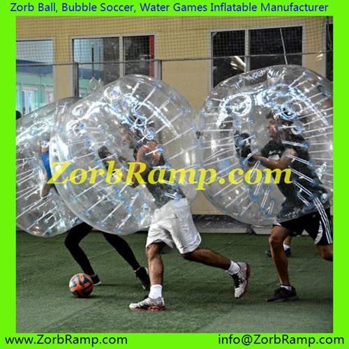 136 Bubble Football Frankfurt
