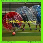 142 Bubble Football Birmingham