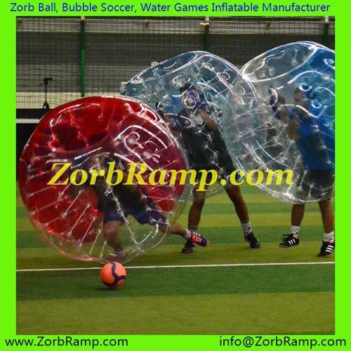142 Bubble Football Birmingham