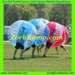 157 Bubble Football Dresden