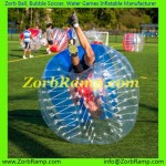 164 Bubble Football Budapest