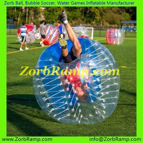 164 Bubble Football Budapest