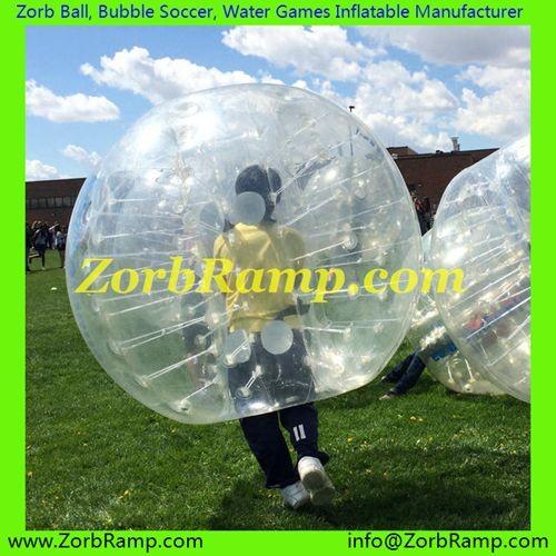 169 Bubble Football York