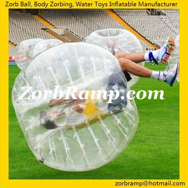 Human Hamster Ball Soccer